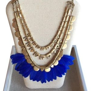 Never worn Stella and Dot Plume Necklace